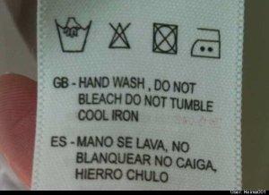 Error en traducción